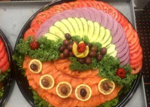 Fish Platter Catering Menu