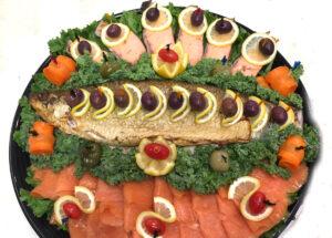 Fish Salmon Platter CAtering Menu
