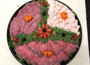 Meat Platter Catering Menu