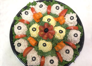 Tuna and Chicken Salad Platter