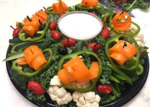Vegetable Crudites Catering Menu